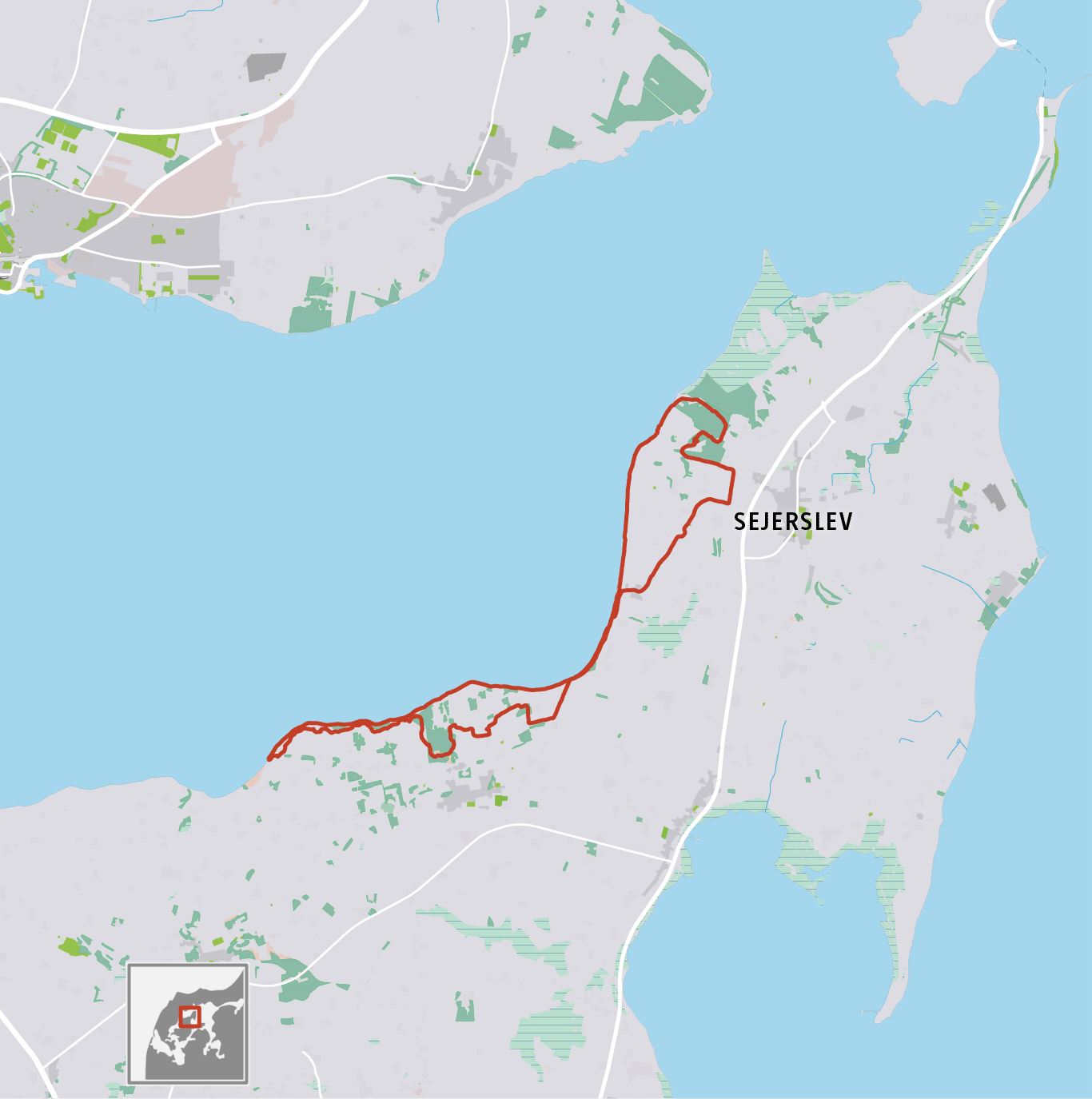 Grafik: Vandretur på Nordmors